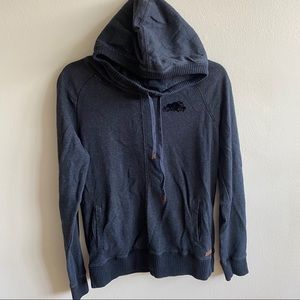 Authentic Roots Dark Grey Pullover Hoodie